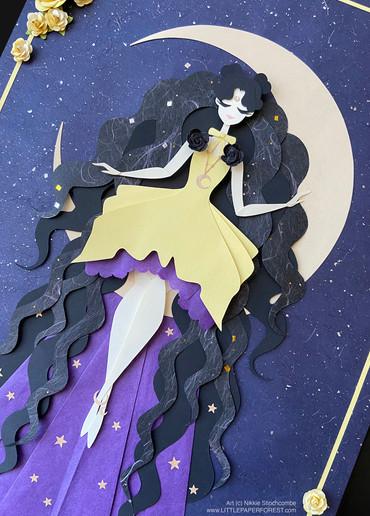 Sailor Moon Paper Pieces