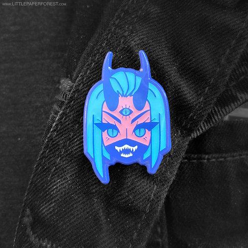 Monster Girl - Demon Babe Enamel Pin