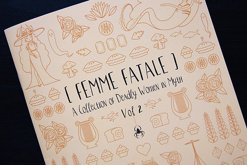 Femme Fatale Vol 2 (Comic/Zine)