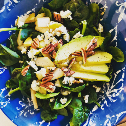 Pear and Point Reyes Blue Cheese Salad