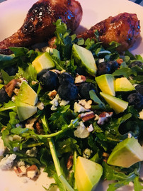 Grilled Chicken with Seasonal Salad