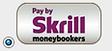 Nous acceptons uniquement pour le moment le paiement par eWallet Skrill.