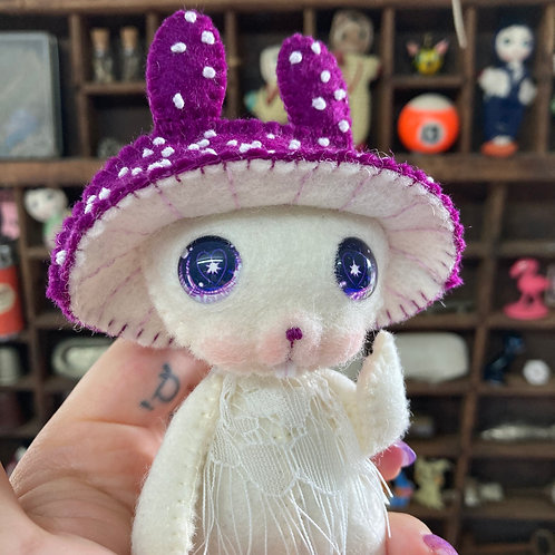 Violet Mushy Bunny