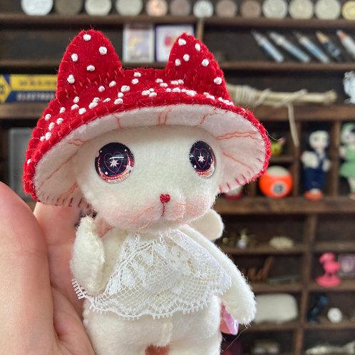 Red Mushy Kitten