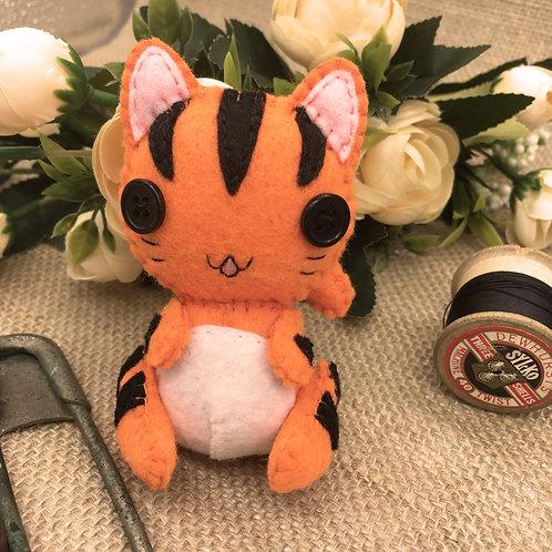 Bright Tiger Cat ~Small