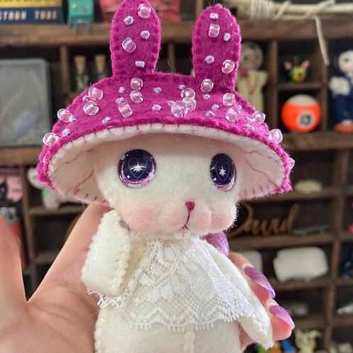 Raspberry Mushy Bunny