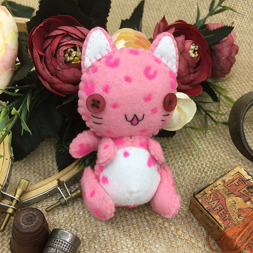 Pink Leopard ~Small