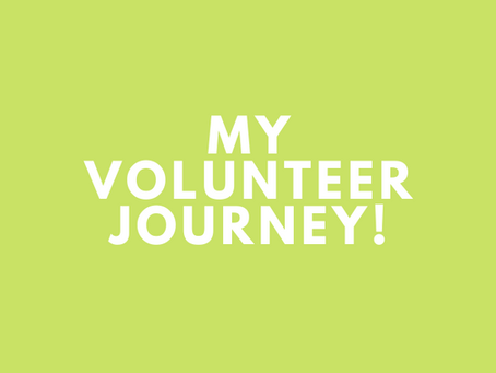 My Volunteer Journey
