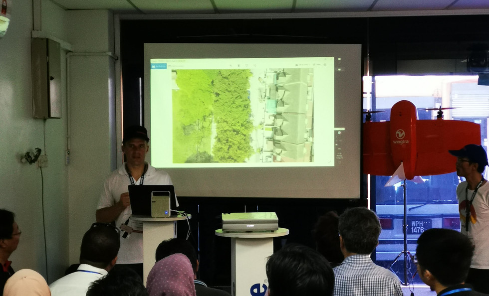 Wingtra Demo Day