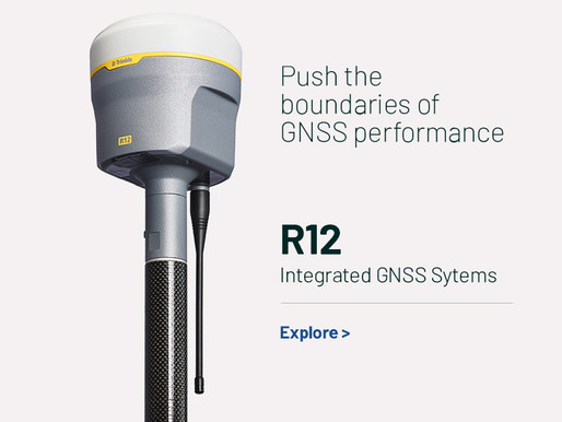 INTRODUCING THE TRIMBLE R12i GNSS SYSTEM