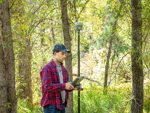 New Trimble R12 Receiver Boosts Surveying Performance