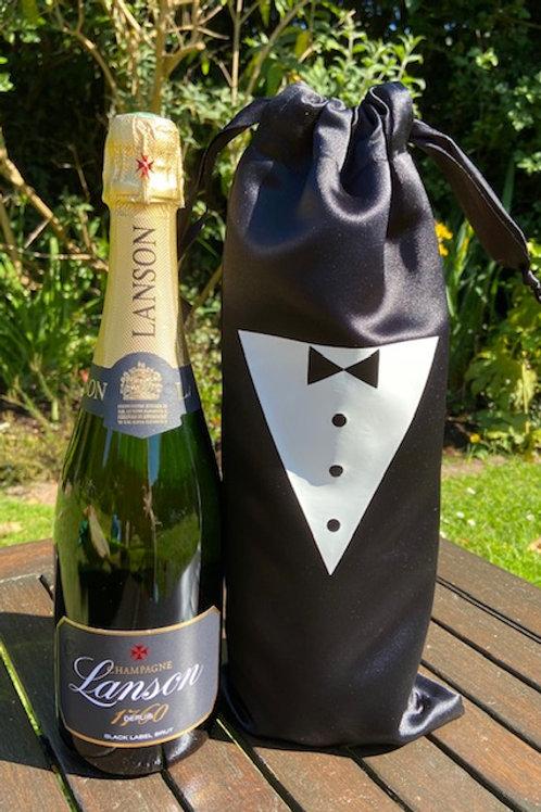 Tuxedo bottle bag
