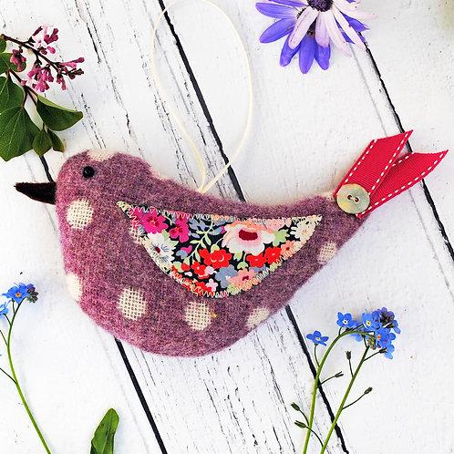 Lambswool Lavender Bird