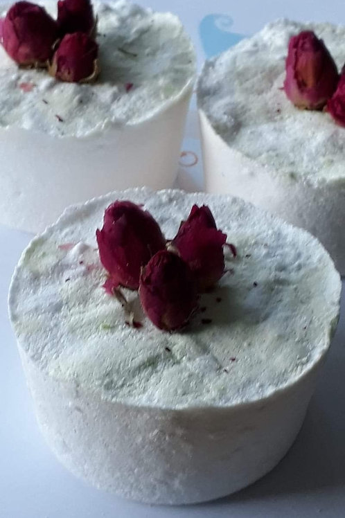 Trio of handmade bath bombs - FLORAL