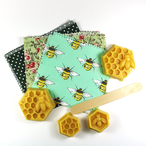 Make Your Own Beeswax Wrap Kit