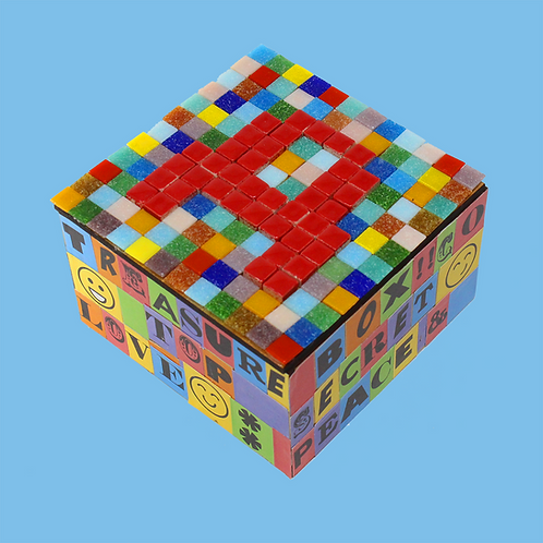 Mosaic & Decoupage Keepsake Box