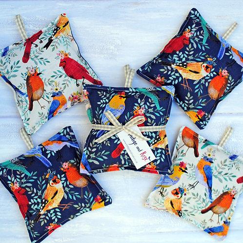 Set of 2 Birdie Lavender Bags