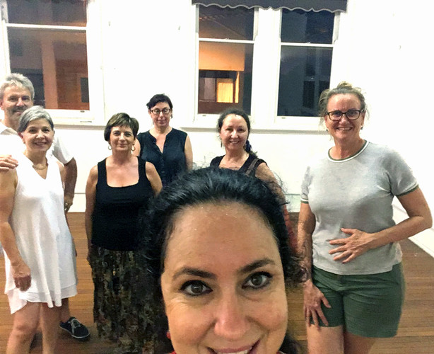 Newcastle adults flamenco classes students selfie