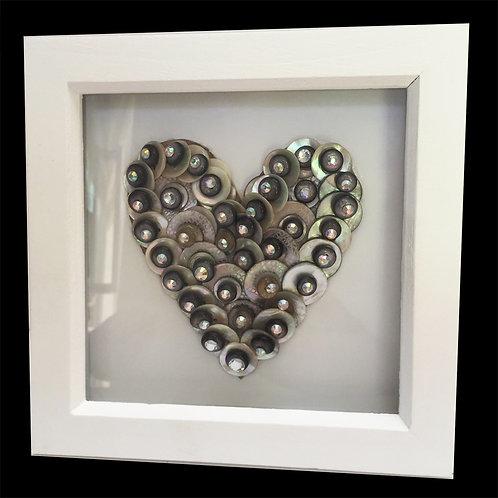 Pearlised Crystal Heart