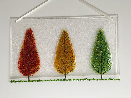 Three Glass Trees