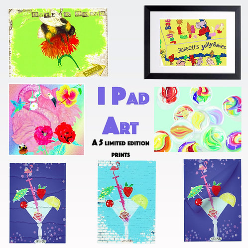 I Pad Art Prints
