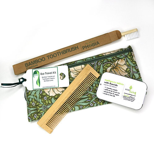 Eco Toothbrush and Comb Kit
