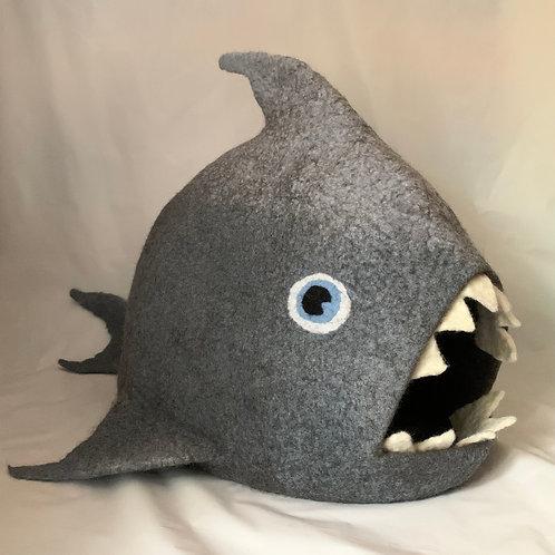 Cat-Eating Shark Cat Cave / Bed