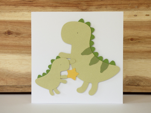 Mother's Day Dinosaur Card