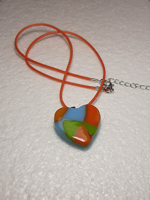 Summer Breeze heart shaped pendant