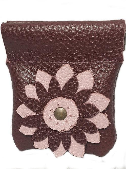 Mulberry Flower snap open purse