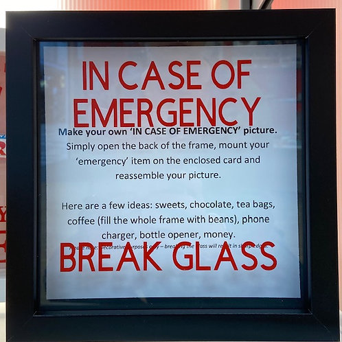 Make your own emergency stash