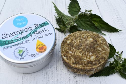 Tea Tree & Nettle Shampoo Bar