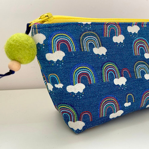 Rainbow Make Up Pouch