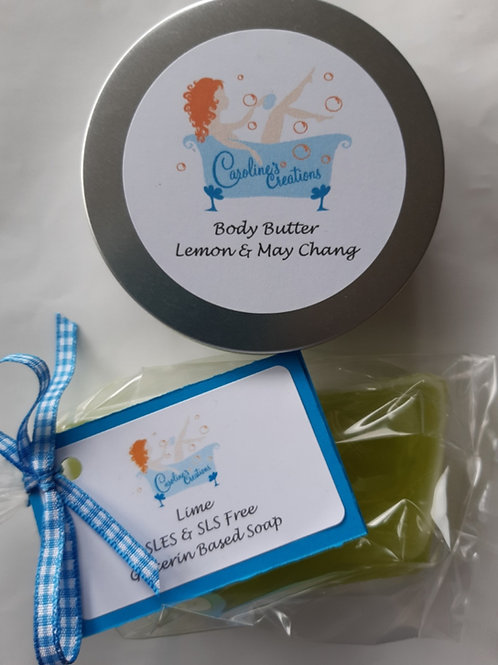 Body Butter and Soap Duo - Fruity