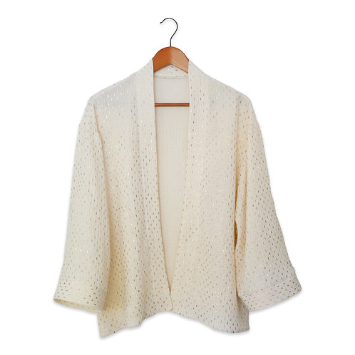 Gold Fleck Kimono (Made to Order)
