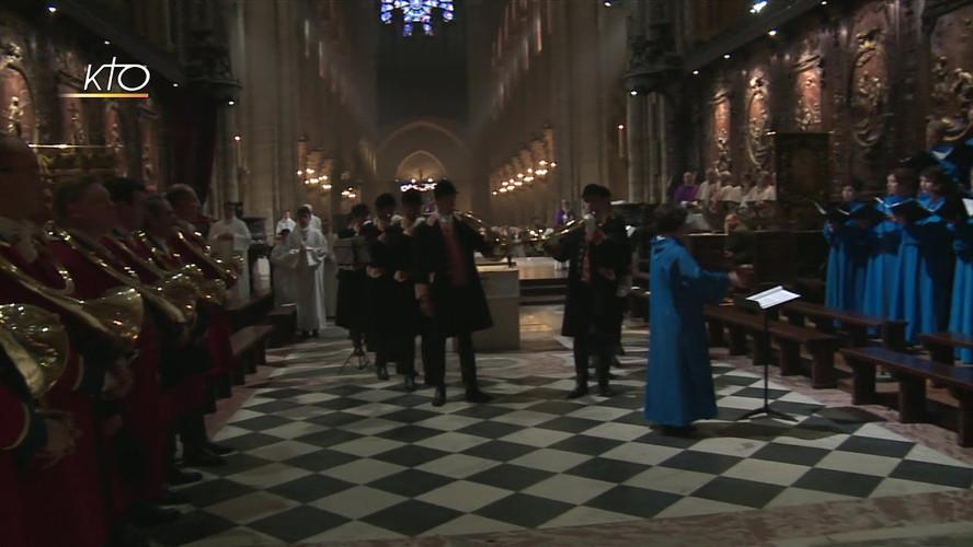 Retransmission intégrale de la Messe de la Saint-Hubert, à Notre Dame de Paris, le 27 novembre 2016 Chaine Kto