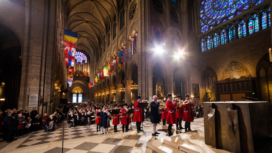 Messe de Saint-Hubert, Notre-Dame de Paris 2 novembre 2018  Photos Olivier Bizard