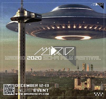 cartel madrid scifi 2020 faro con letras