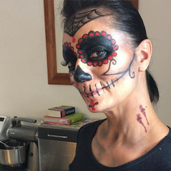Day of the dead makeup Sydney
