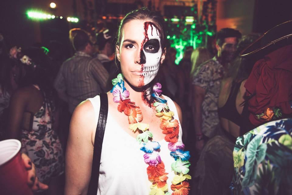 Skeleton Makeup | Emily Doyle Makeup Artist Sydney