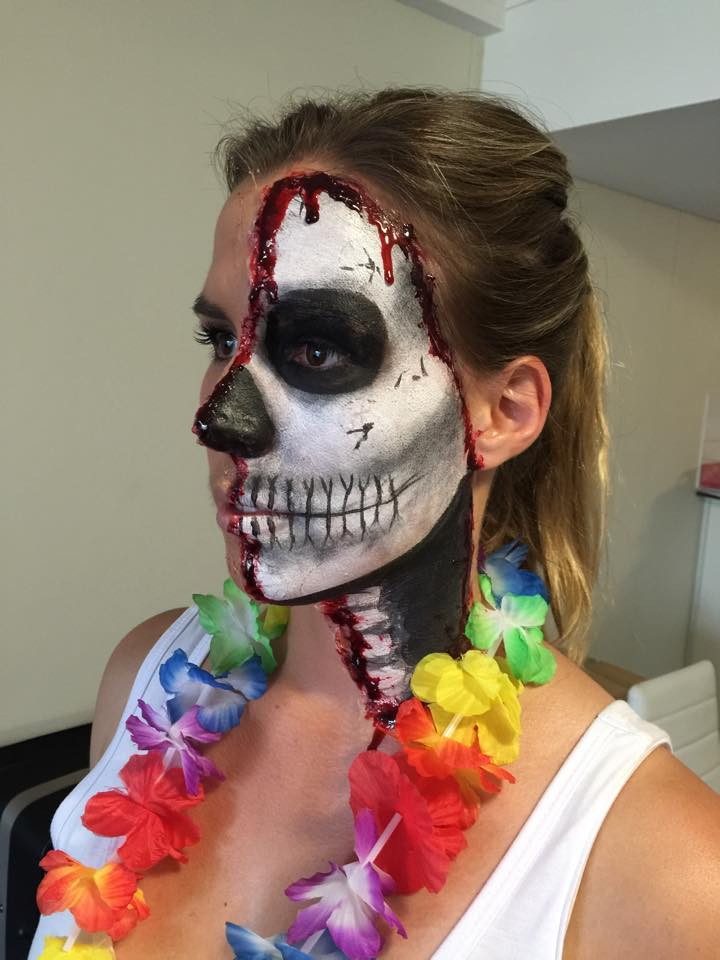 Club Dead Makeup | Emily Doyle Makeup Artist Sydney