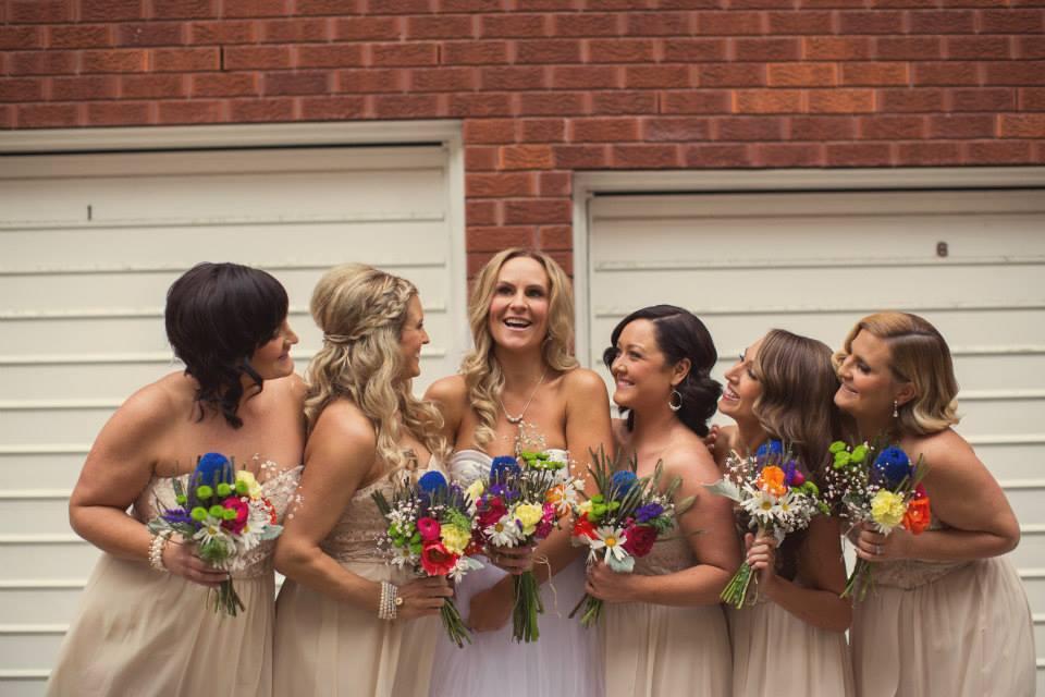 Kendall & her Bridesmaids
