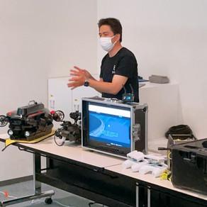 水中ドローンFIFISH W6操作体験・検討会を実施致しました
