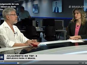 Reflexos do julgamento de Lula | Noticiário Brasil em Rede - Rede Minas