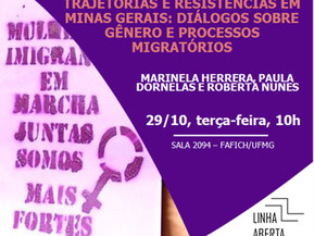 Trajetórias e resistências em Minas Gerais: diálogos sobre gênero e processos migratórios