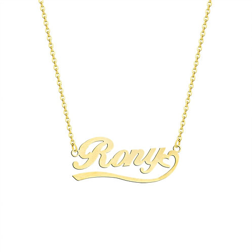 Handmade Custom Name Necklace Personalized