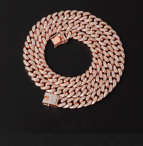 CAMEO 8 MM 925 Silver Cuban Chain  | 9211855