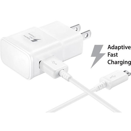 Fast Charger US Plug + Micro USB Cable For Samsung