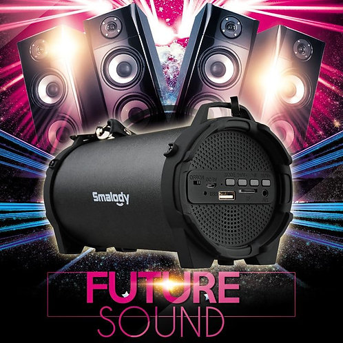 Column Wireless Bluetooth Speaker Outdoor Portable Subwoofer Music