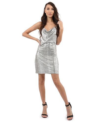 Gloaming Shiny Mini Dress